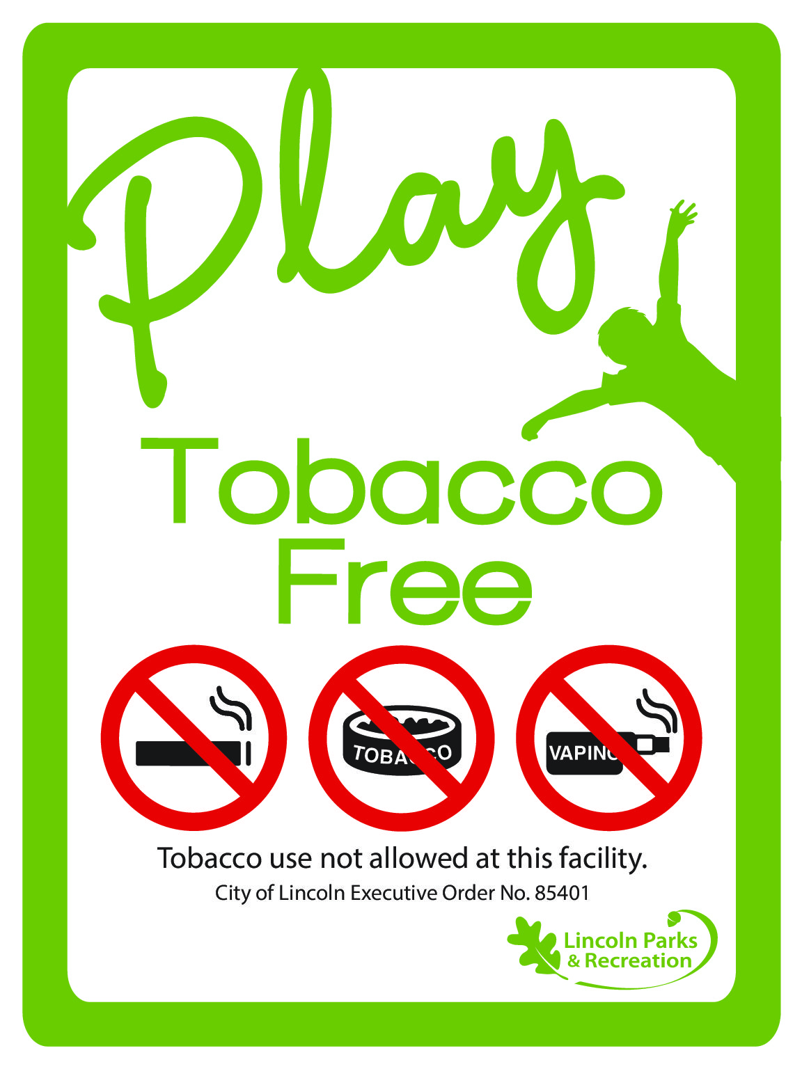 Tobacco-Free Parks – A Wonderful Place to Play